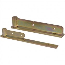 gate hinge with arm