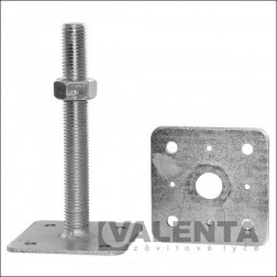 bolt post holder with separate upper plate