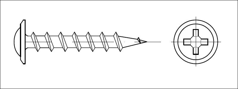 Drywall screws - Valenta ZT s r o